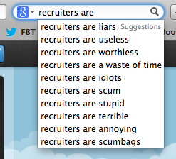 Google - Recruiter Descriptions